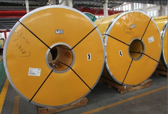 ASTM A240, JIS G4304, G4305 Hot Rolled Coil Stainless Steel 430 410 409 Disesuaikan