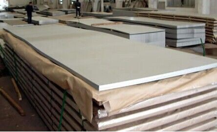 Cina GB DIN EN Cold Rolled Stainless Steel Sheet, 409 Plat SS Tebal 0.3mm - 51mm pabrik