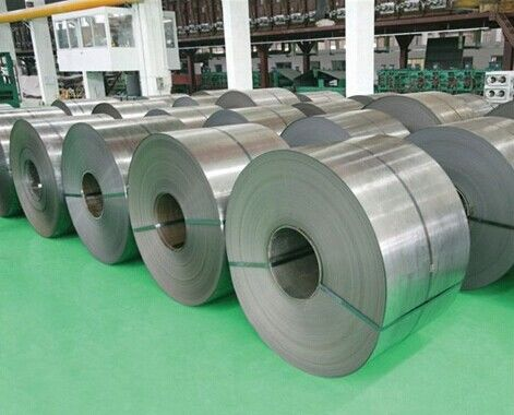Cina Lebar 1219mm 1500mm panas digulung baja stainless coil 304 201 306 309S 310S ASTM pabrik